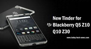 New Tinder For Blackberry