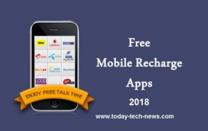 5 Best Free Recharge Android Apps 2018