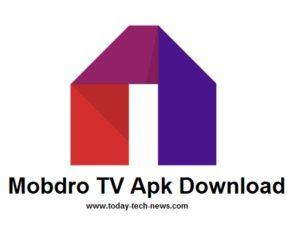 Mobdro TV Apk Download -2018th Version